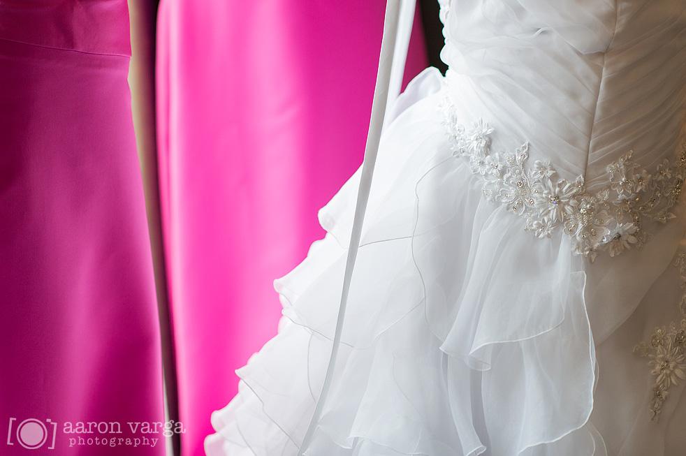 Hot pink bridesmaids dresses | Aaron Varga Photography | Pittsburgh ...