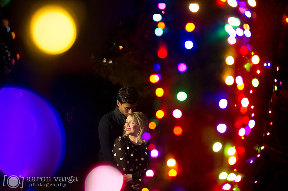 Kennywood Engagement | Kennywood Holiday Lights