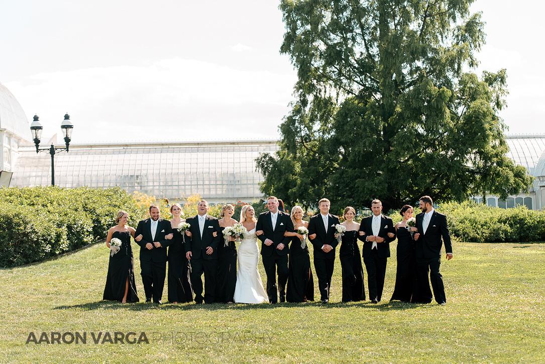 15 wedding photos at phipps conservatory - Mallory + Mark | Circuit Center & Ballroom Wedding Photos