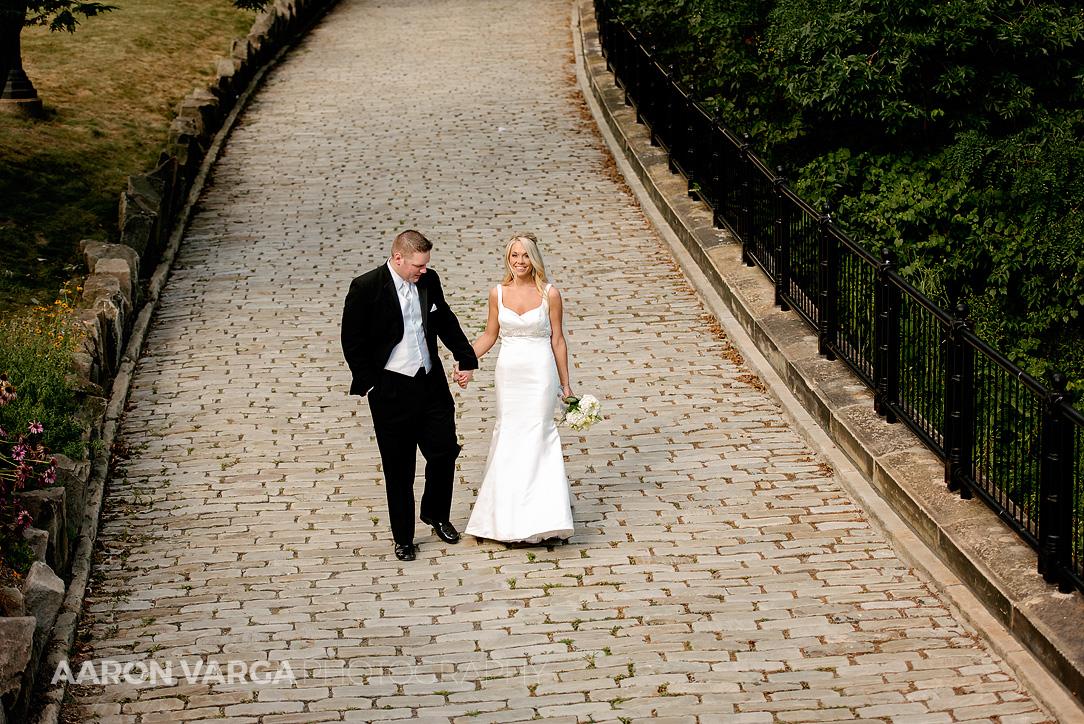 30 schenley park cobblestone - Mallory + Mark | Circuit Center & Ballroom Wedding Photos
