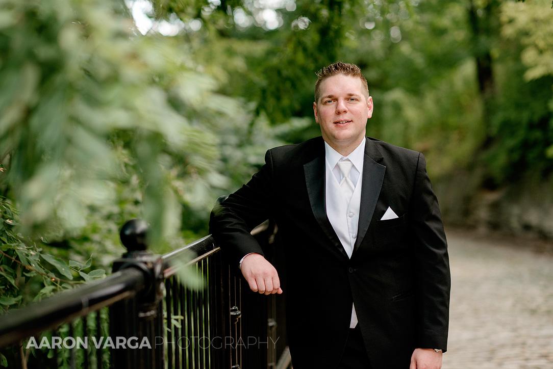 35 groom schenley park - Mallory + Mark | Circuit Center & Ballroom Wedding Photos