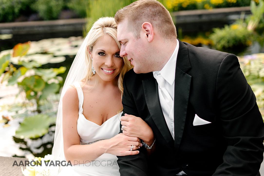 38 phipps conservatory wedding portrait - Mallory + Mark | Circuit Center & Ballroom Wedding Photos