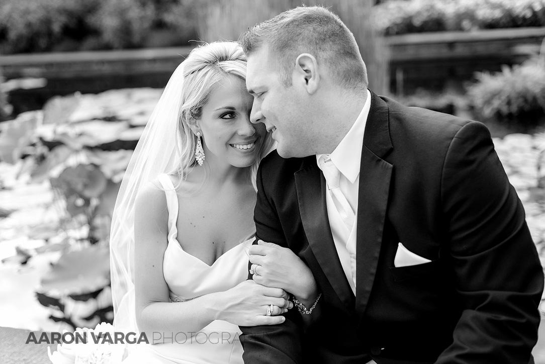 39 phipps conservatory wedding black white - Mallory + Mark | Circuit Center & Ballroom Wedding Photos