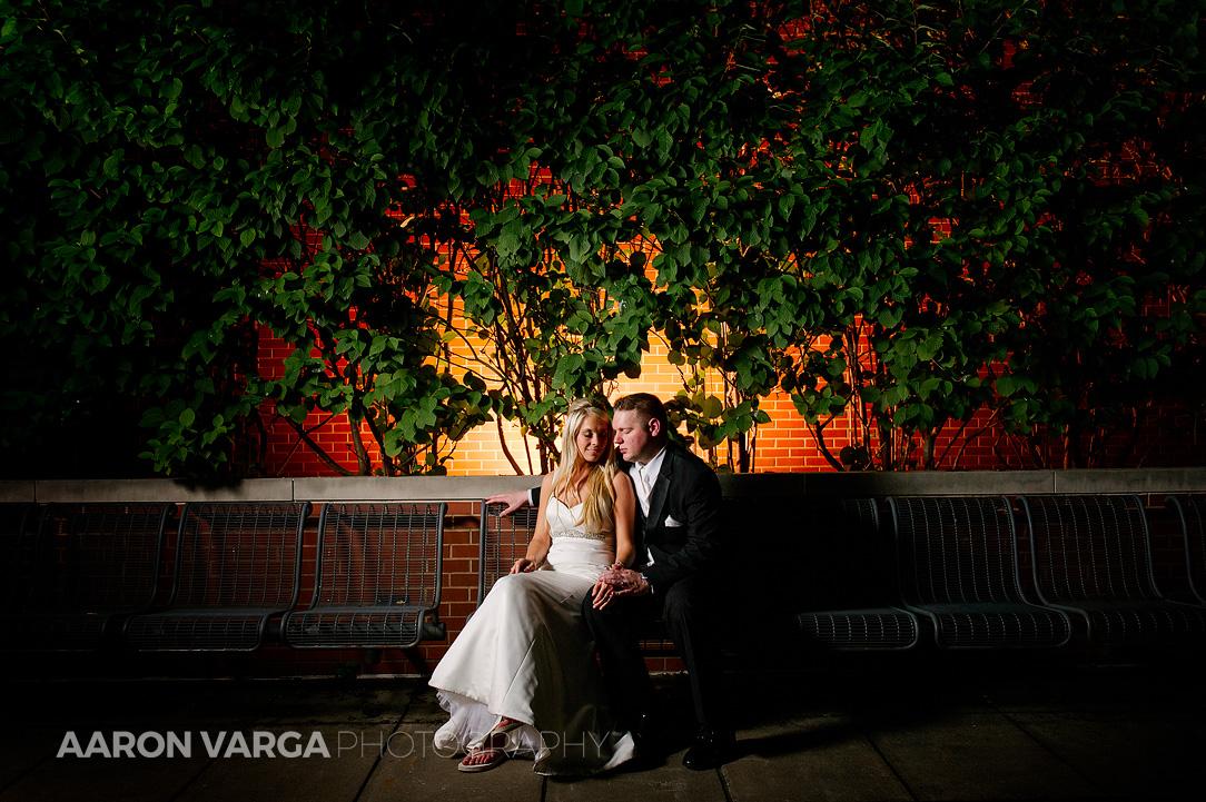 48 circuit center south side wedding off camera flash - Mallory + Mark | Circuit Center & Ballroom Wedding Photos