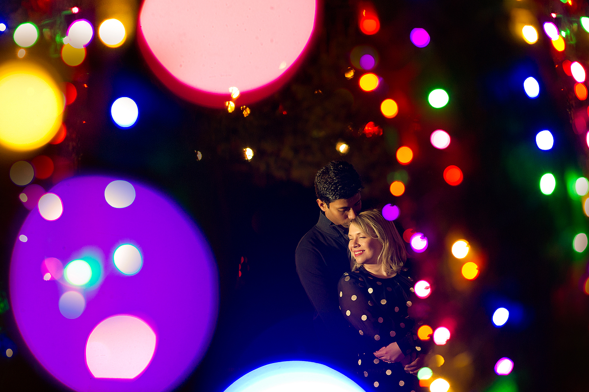 kennywood holiday lights christmas engagement | Aaron Varga ...